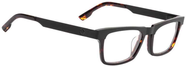 Spy Zade Eyeglasses in Dark Tort/Matte Black