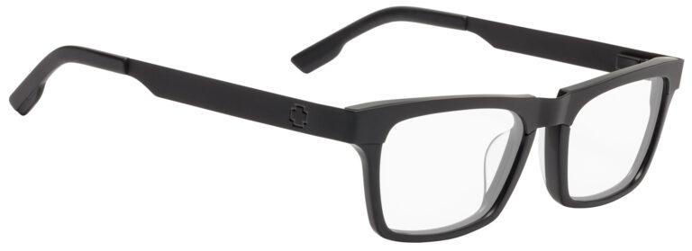 Spy Zade Eyeglasses in Matte Black