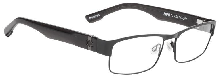 Spy Trenton Eyeglasses in Matte Black/Matte Black