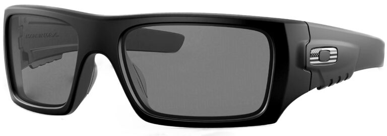 Oakley Standard Issue Det Cord™ Flag Collection with Gray Lenses and Tonal USA Emblem