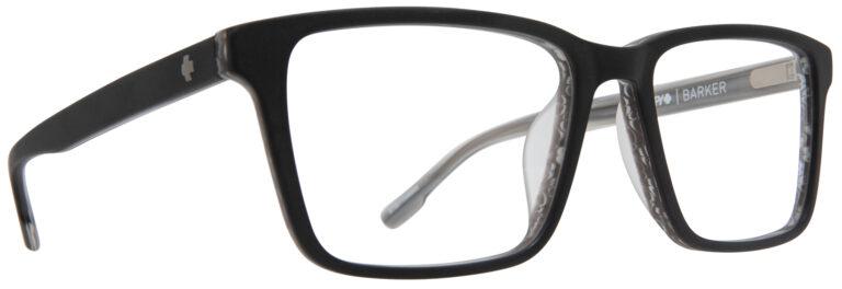 Spy Barker Prescription Eyeglasses in Matte Black Horn SPY-BARKER-MBKH