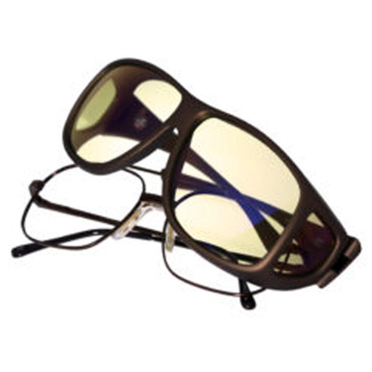 Twilight Night Driver Glasses, Model C205T, Aviator (XL)