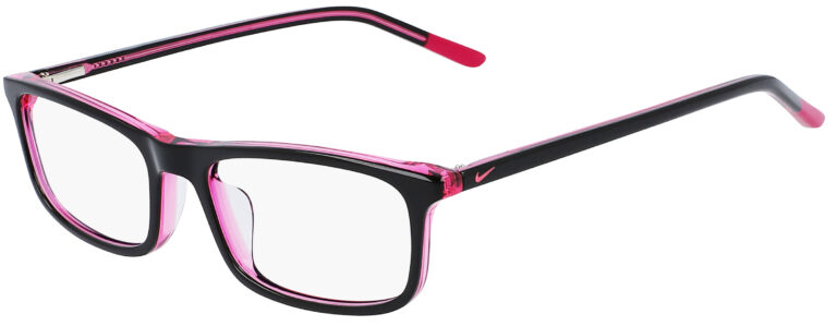 Nike 5540 Prescription Glasses in Black/Cactus Flower NI-5540-018