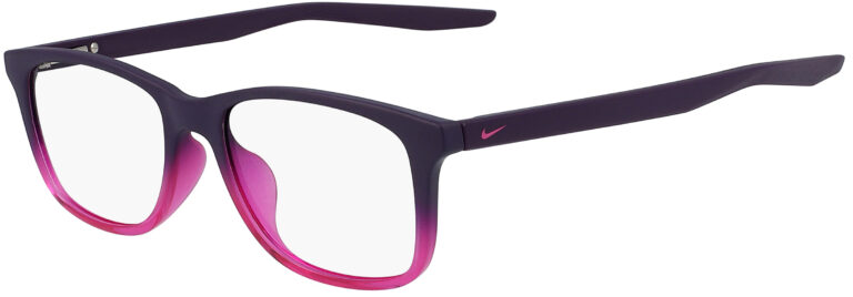 Nike 5019 508 Matte Grand Purple Fade Frame Matte Grand Purple Fade Lens Angled Side Left