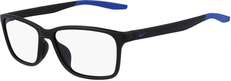 Nike 7118 Glasses - Matte Black/Racer Blue
