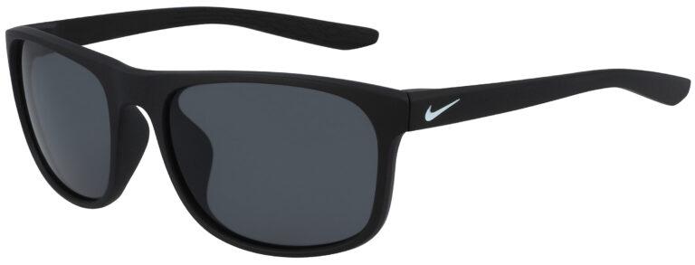 Nike Endure Sunglasses in Matte Black Frame with Dark Grey Lens, NI-CW4652-010