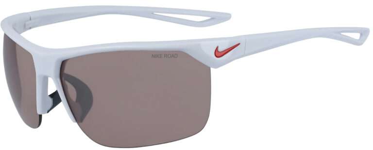 Nike Trainer in Platinum Road Tint Frame with Silver Mirror Lens