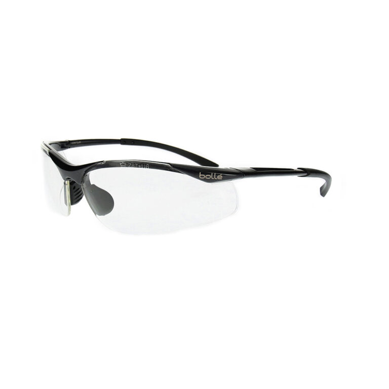 Bolle Contour Safety Glasses with Clear Lens BO-CONTOUR-40044
