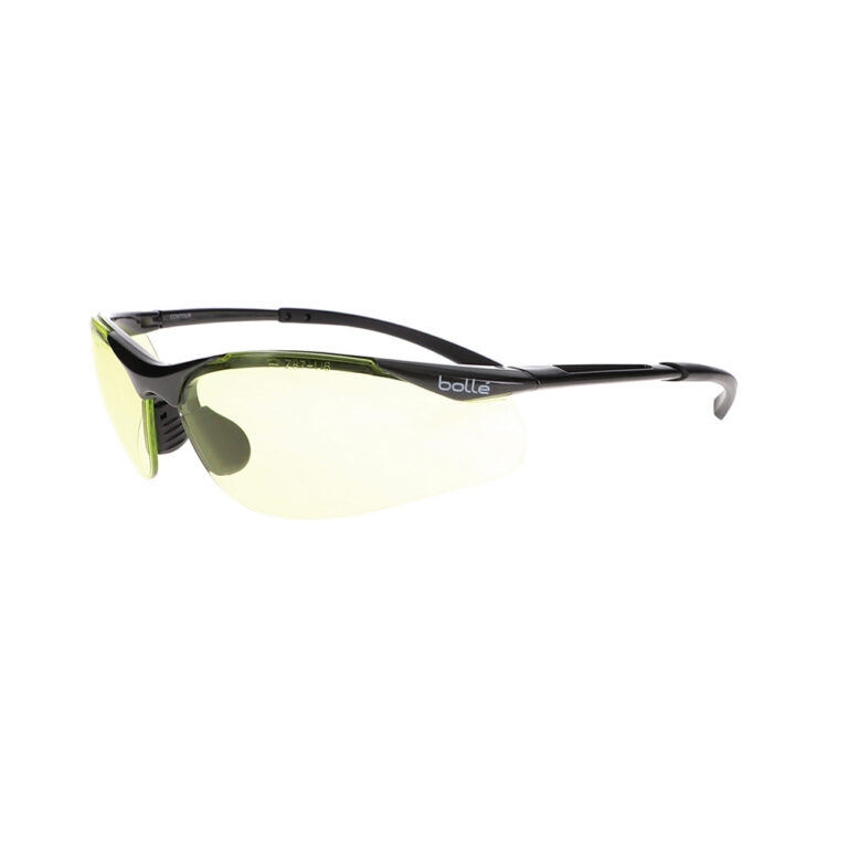 Bolle Contour Safety Glasses with Yellow Lens BO-CONTOUR-40046
