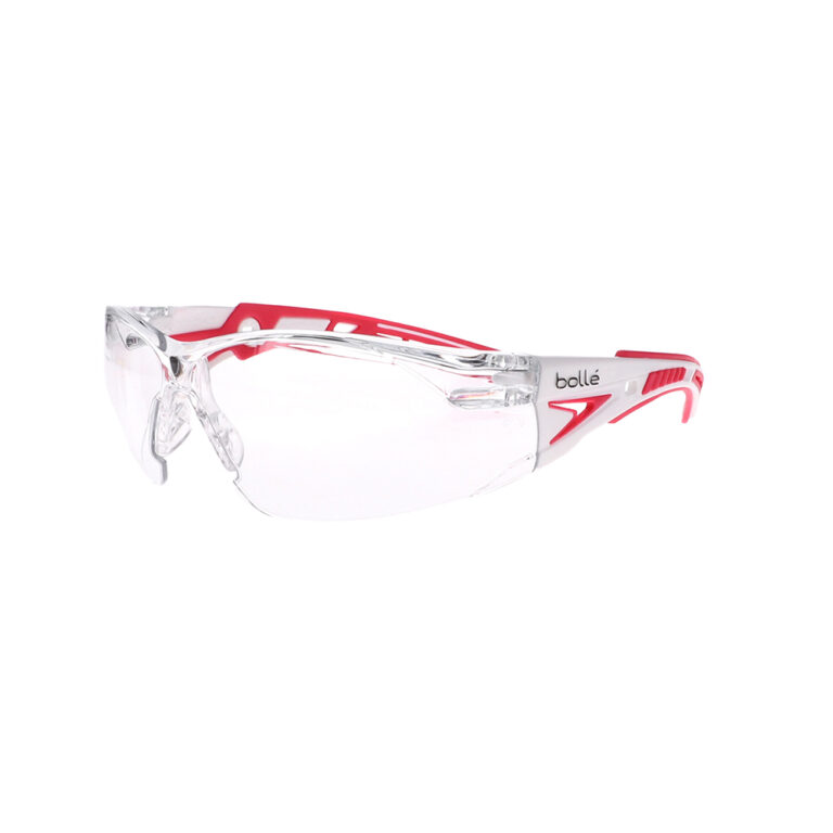 Bolle Rush+ Small Clear Safety Glasses BO-RUSH+-40254