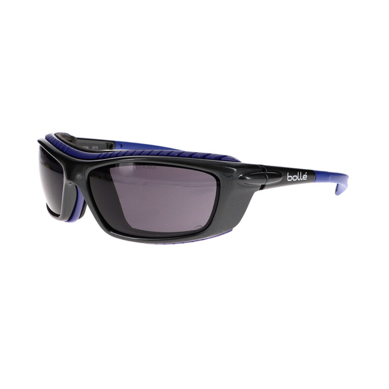 Bolle Baxter Prescription Safety Glasses with Smoke Lens BO-BAXTER-40277