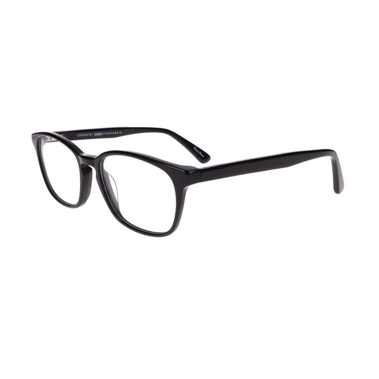 Geek Chemistry glasses in Black LBI-GK-CHEMISTRY-BK