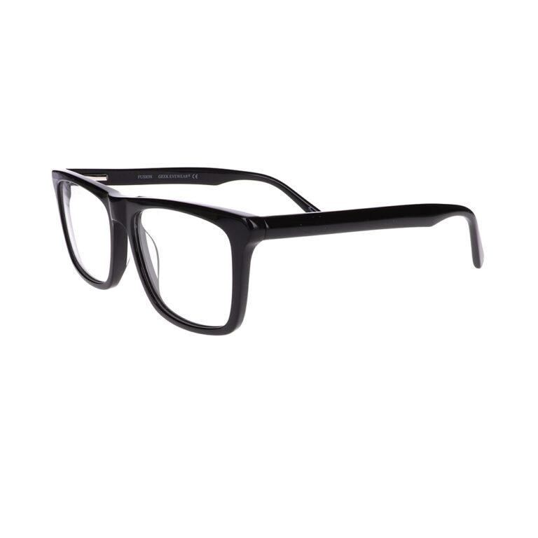 Geek Fusion Prescription Glasses in Black LBI-GK-FUSION-BK