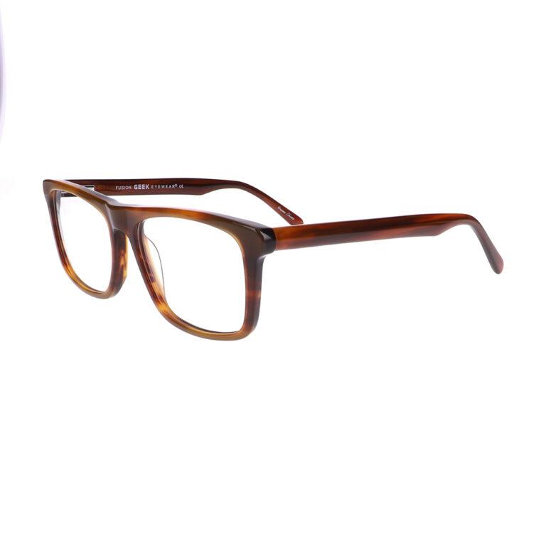 Geek Fusion Prescription Glasses in Brown LBI-GK-FUSION-BN