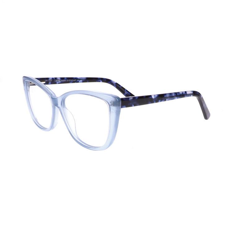 Geek Jess Prescription Glasses in Blue LBI-GK-JESS-BL