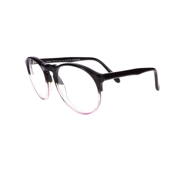 Geek Math Eyeglasses in Black/Blush LBI-GK-MATH-BKBL