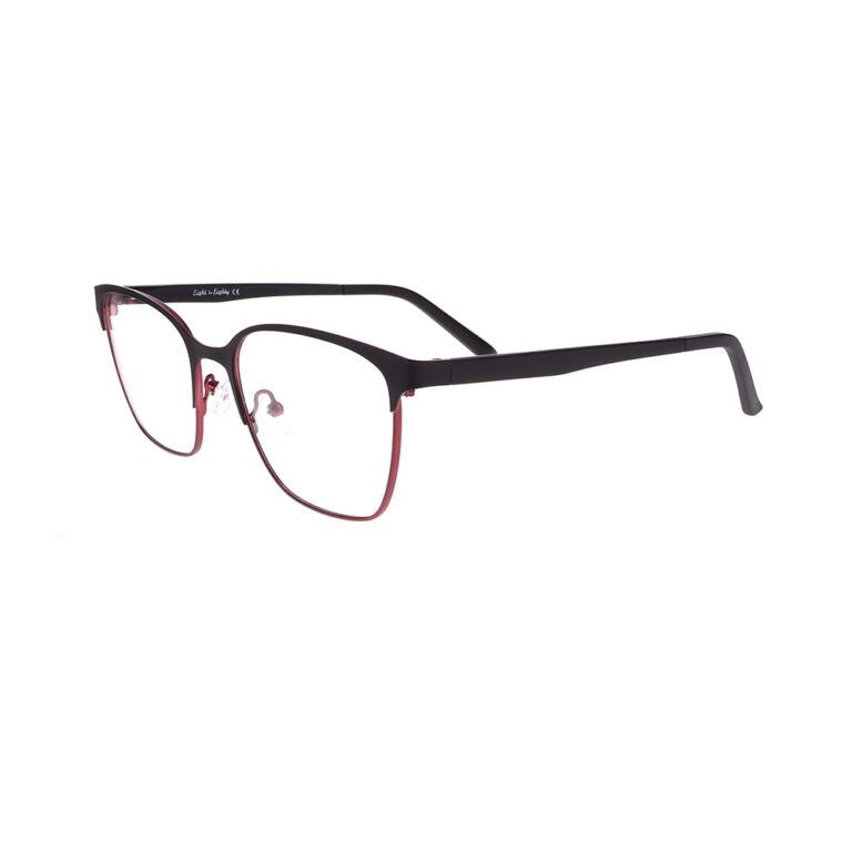 Eight to Eighty Hazel Black/Cherry Eyeglasses SFA-HAZEL-BKCH