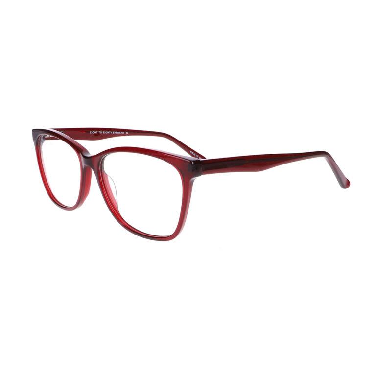 Eight to Eighty Margo Burgundy Eyeglasses ETE-MARGO-BU