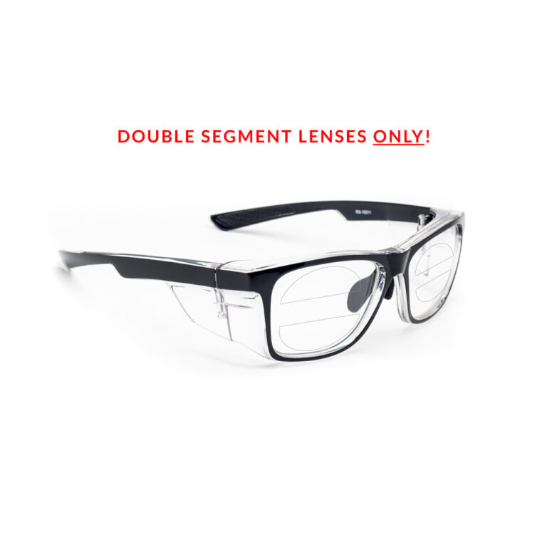 RX-15011 Double Segment Safety Glasses