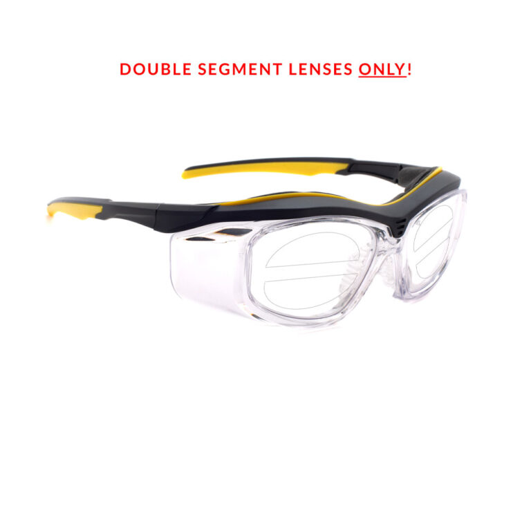 RX-206 Double Segment Safety Glasses