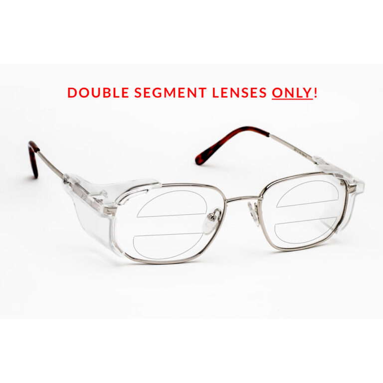 RX-554 Double Segment Safety Glasses