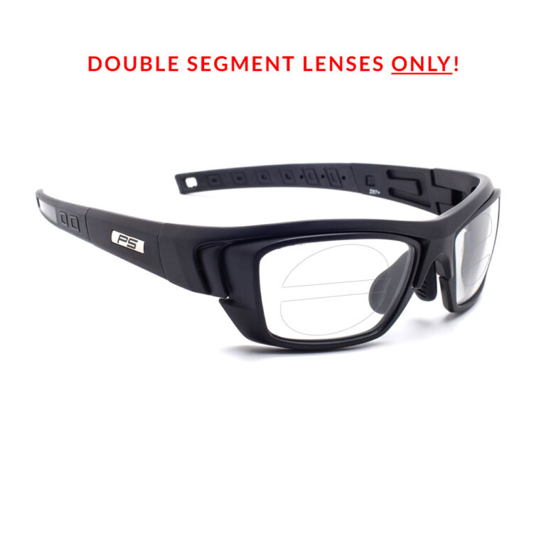 RX-J136 Double Segment Safety Glasses