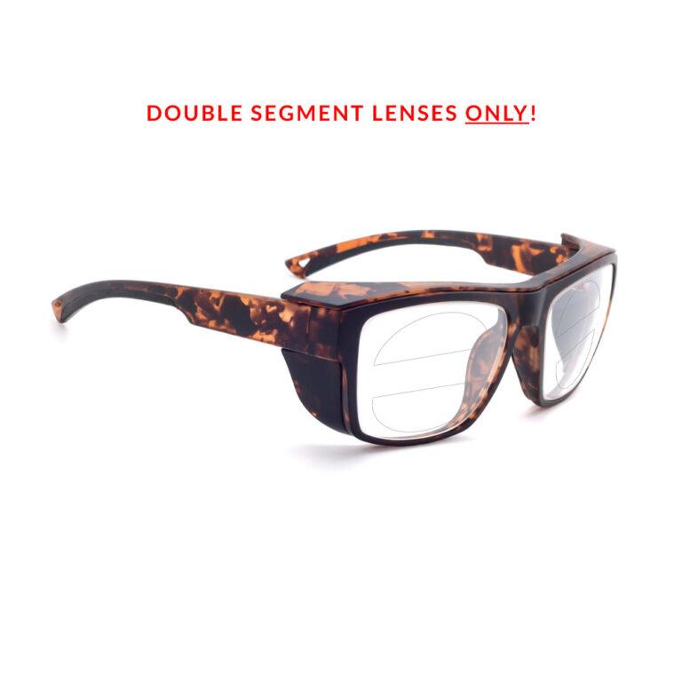 RX-X25 Double Segment Safety Glasses