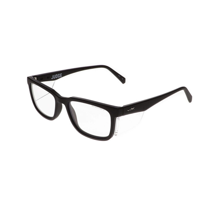 Wiley X Judge Safety Glasses in Matte Black WX-WSJDG01