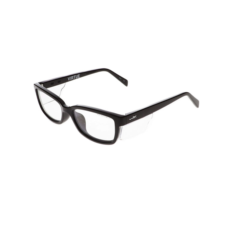 Wiley X Virtue Safety Glasses in Gloss Black WX-WSVRT01