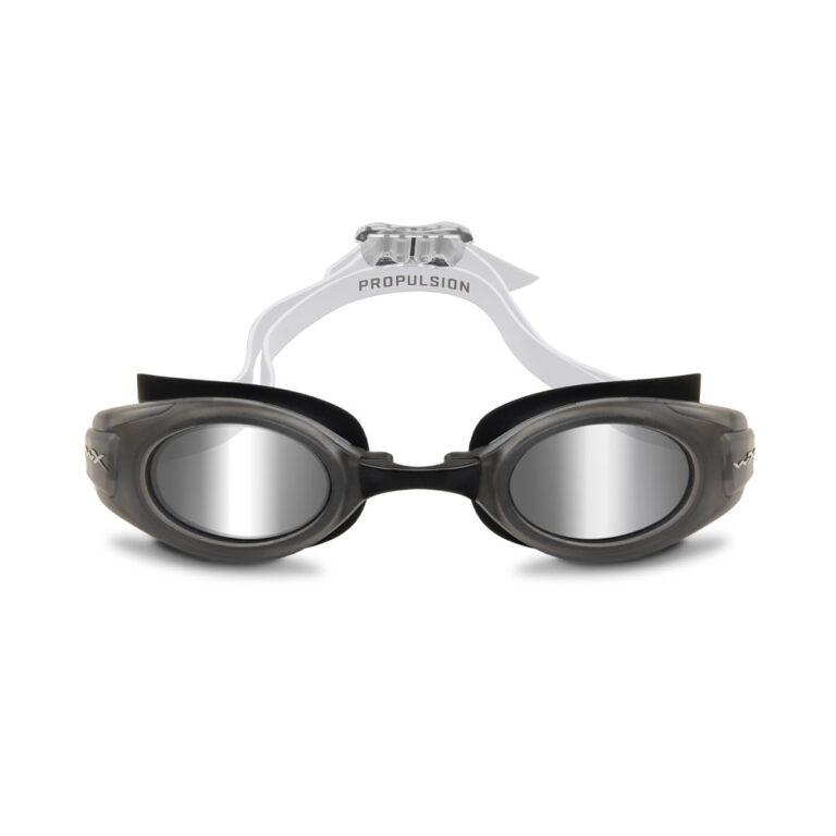 Wiley X Propulsion Swim Goggle in Matte Black with Silver Mirror WX-ACPPL02