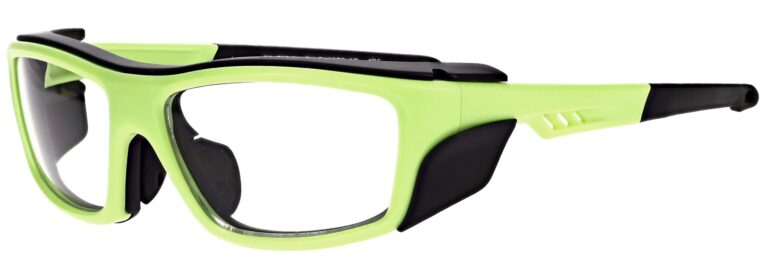 Model RX-EX36FS Safety Glasses in Matte Apple Green RX-EX36FS-AP