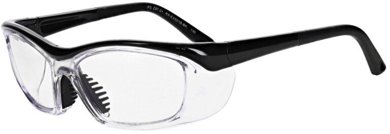 Model RX-EX601 Safety Glasses in Black RX-EX601B-BK