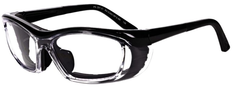 Model RX-EX601 Safety Glasses in Black RX-EX601BFS-BK