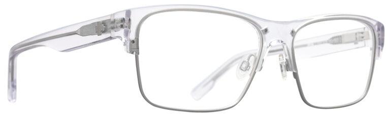 Spy Brody 50/50 Eyeglasses in Crystal Matte Silver SPY-BRODY5050-CMS
