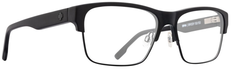Spy Brody 50/50 Eyeglasses in Matte Black SPY-BRODY5050-MBK