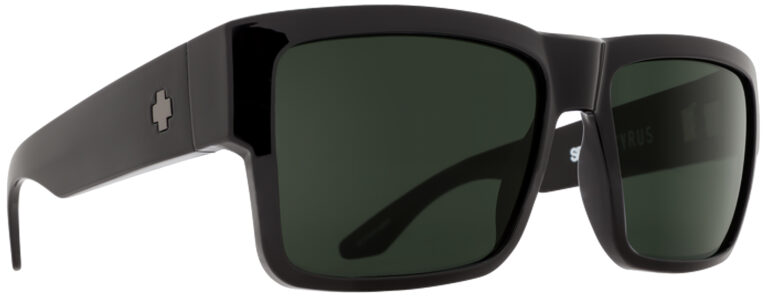 Spy Cyrus Plastic Prescription Sunglasses in Black SPY-CYRUS-BK