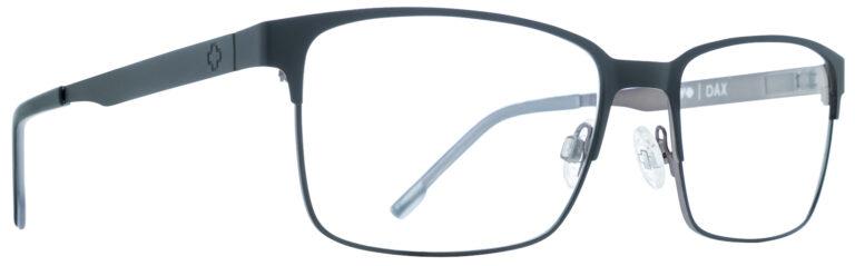 Spy Dax Eyeglasses in Matte Black/Black Gray SPY-DAX-MBKG