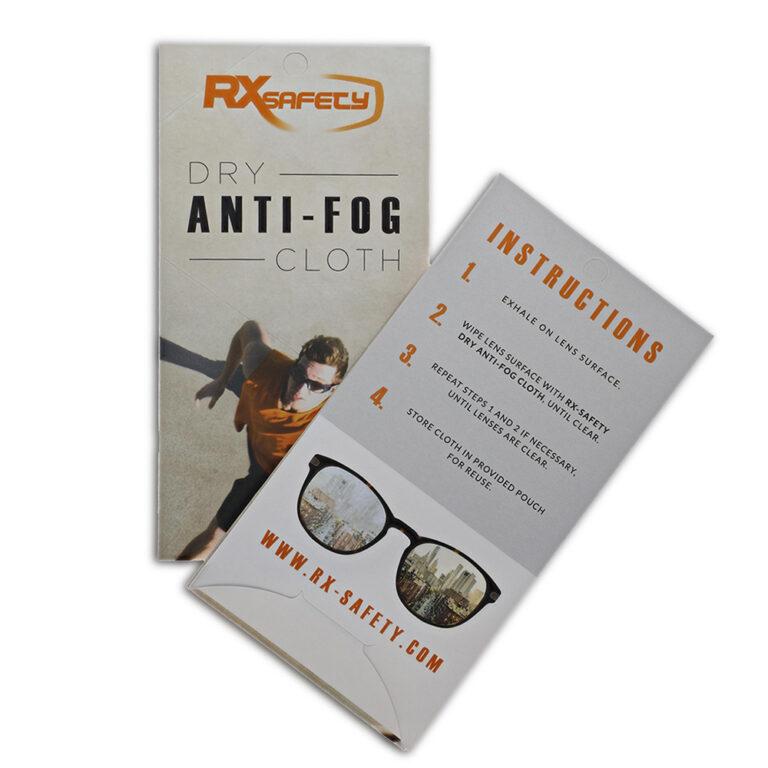 RX-Safety Dry Anti-Fog Cloth