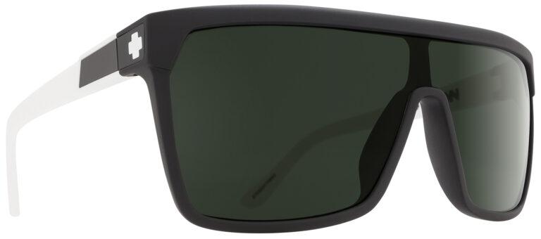 Spy Flynn Sunglasses in Matte Ebony Ivory SPY-FLYNN-MEI