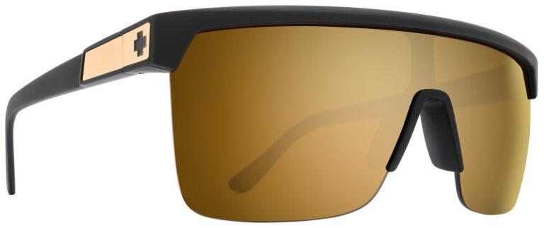 Spy Flynn 5050 Sunglasses in 25th Anniversary Edition Matte Black Gold SPY-FLYNN5050-MBKG