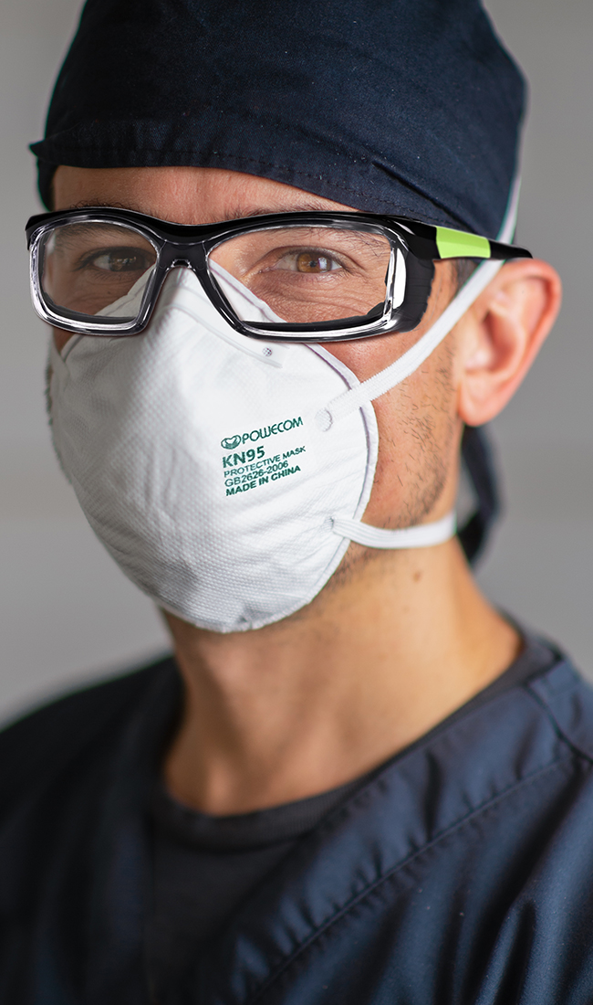 COVID-19 Prescription Glasses protect your eyes from a potential Coronavirus infection