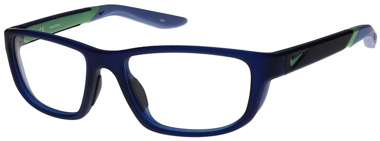 Nike 5044 Plastic Prescription Glasses in Matte Midnight Navy/Royal Pulse NI-5044-405