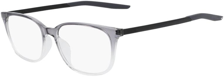 Nike 7283 035 Dark Grey Clear Fade Frame Dark Grey Clear Fade Lens Angled Side Left