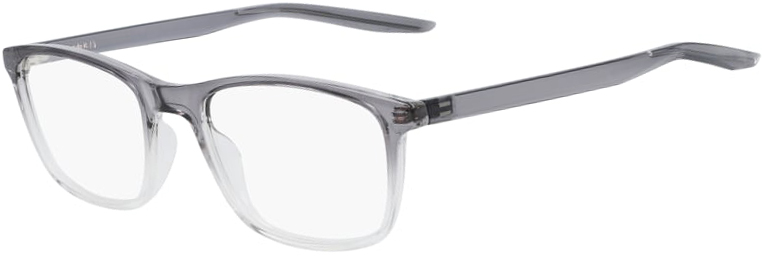 Nike 7129 035 Dark Grey Clear Fade Frame Dark Grey Clear Fade Lens Angled Side Left