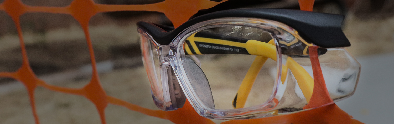 Safety Glasses Top Banner