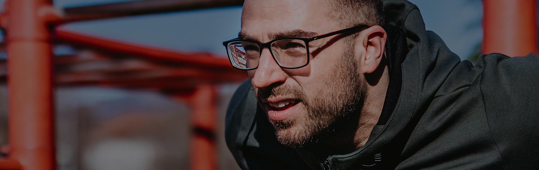 Men's Glasses Top Banner