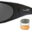 Wiley X Romer 3 in Matte Black Frame with smoke Grey, Clear, and Light Rust Lens, swatch