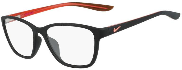 Nike 5028 Glasses - Matte Black/Atomic Pink