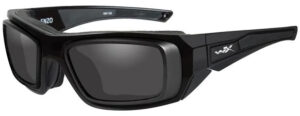 Wiley X Enzo with RX Rim in Matte Black Frame with Gray Lenses, WX-CCENZ03D