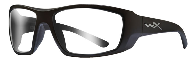 Wiley X Kobe in Matte Black Frame, Angled to the Side Left